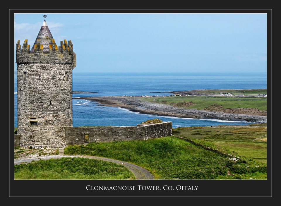 Clonmacnoise Tower, Co.Offaly
