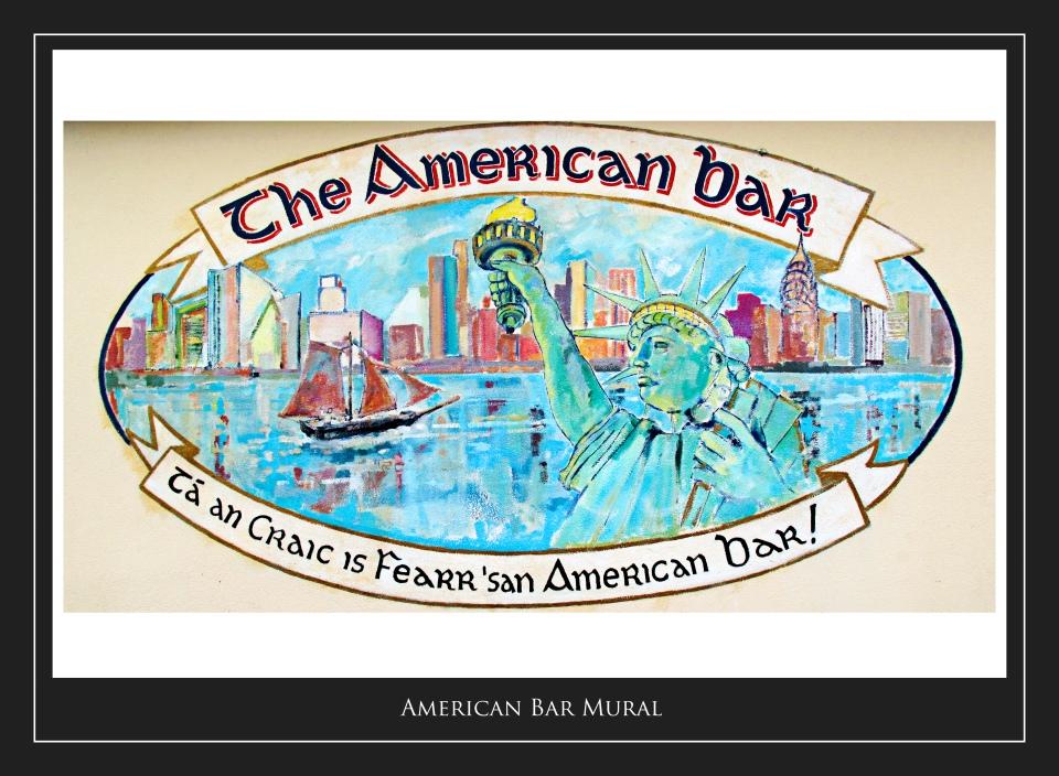 American Bar Mural