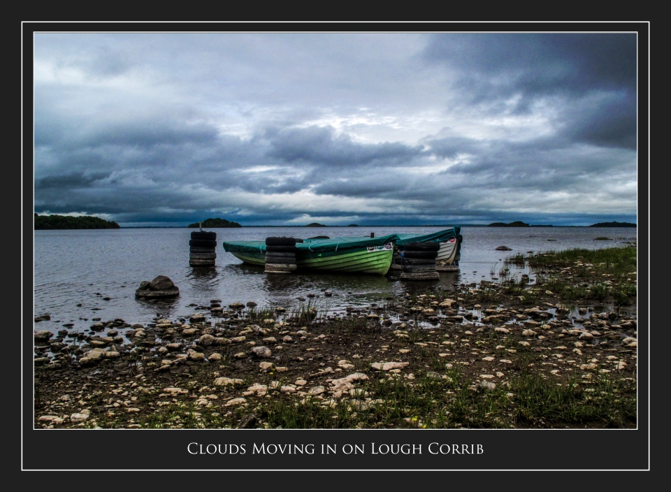 Clouds over Lough Corrib